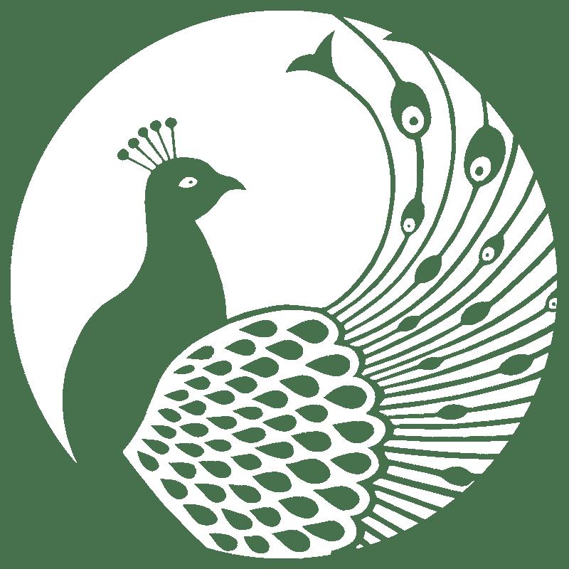 Blake House Peacock Logo